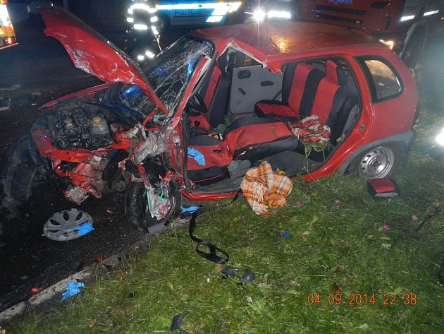Nehoda 4.9.2014 Aleše Lachouta.