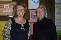 Marie Sovadinová a Jana Špačková Chalupská, zakladatelky Domácího hospice Jordán