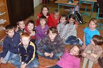 S dětmi ze Základní školy ve Slapech tentokrát na téma řidiči kontra chodci