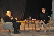 Během festivalu TABOOK se představili např. spisovatel Karol Sidon nebo Miloš Doležal, o svém životě vyprávěla i pamětnice holocaustu Lydie Tischlerová.