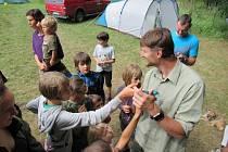 Letní ornitologická praxe se konala kolem rybníků Hejtman a Koberný od 26. července do 4. srpna.