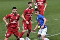 FC MAS Táborsko - FK Třinec 1:1.