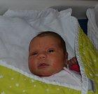 Tereza Dvořáková z Oldřichova. Narodila se 21. prosince v 0.48 hodin a je druhou dcerou v rodině. Vážila 3400 gramů, měřila rovných 50 cm a sestřičce Emě jsou dva roky.