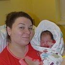 Dominika Berková z Plané nad Lužnicí. Přišla na svět jako první dítě  rodičů Honzy a Dominiky 24. ledna v 11.32 hodin.Po narození jí navážili 3800 gramů.