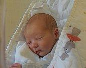 Kryštof Dvořák z Tábora. Prvorozený syn rodičů Evy a Radka přišel na svět 6. května ve 12.29 hodin. Po narození vážil 3320 gramů a měřil 50 cm.