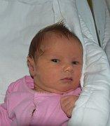 Nikol Štraufová z Chýnova. Na svět přišla 31. srpna v 11.34 hodin. Po narození vážila 2960 gramů a doma už má devítiletého brášku Michala.