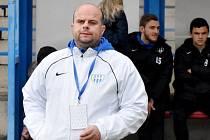 Trenér Roman Nádvorník.