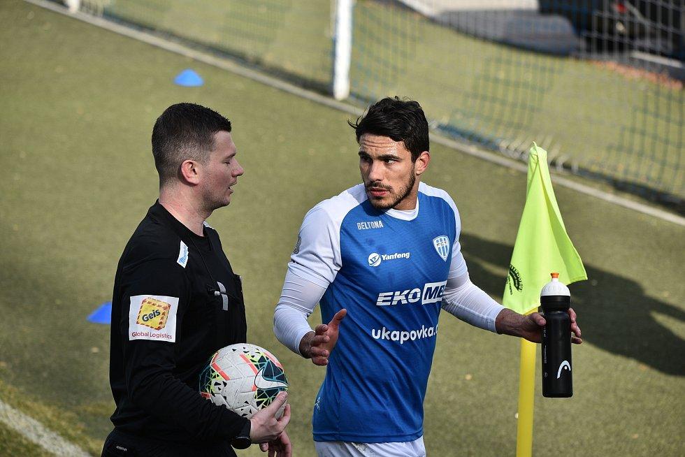 FC MAS Táborsko - MFK Chrudim 1:1.