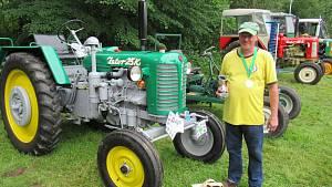 Zlato z výroční traktoriády putovalo do Soběslavi