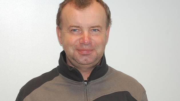Trenér ČEZ Cyklo Teamu Tábor Stanislav Bambula.