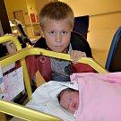 Sofie Kubíčková z Milevska. Na svět přišla 8. října ve 22.29 hodin s váhou 3530 gramů a mírou 48 cm. Je třetím dítětem v rodině, má brášku Marka (9) a sestřičku Lily (11 měsíců).