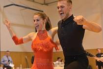 V soutěži Mladovožický pecen vynikl pár ve složení Adam Koutek a Hana Rýcová.