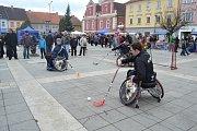 Soběslavští si vyzkoušeli paralympiádu