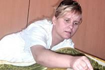 Lektrorka Jana Jandejsková na kurzu patchworku v rodné Soběslavi .