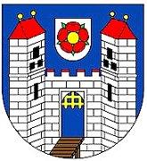 Znak města Soběslav.