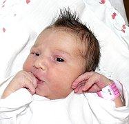 ADÉLA NOVOTNÁ Z BECHYNĚ. Narodila se 14. května ve 4.11 hodin. Vážila 3940 g, měřila  50 cm a doma už má sestřičku Nikolku (5,5).