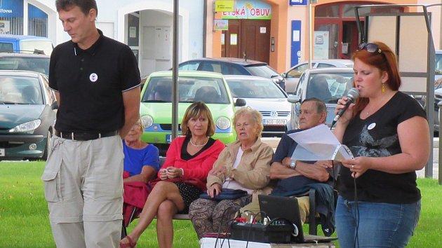 Na soběslavském náměstí historické události připomněli tři řečníci