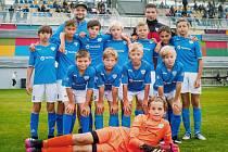 Stříbrný tým FC MAS Táborsko