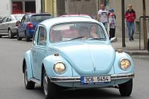 Ze soběslavského náměstí v sobotu 14. září odstartoval již 8. ročník orientačního závodu historických vozidel O pohár města Soběslav.