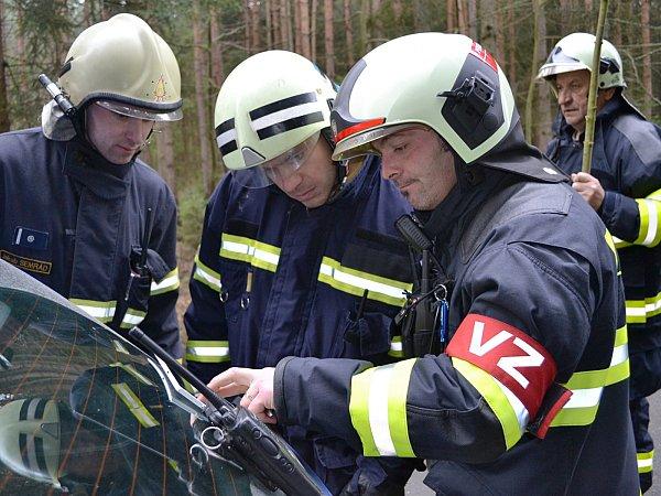 Velitel zásahu Martin Pekárek vterénu.