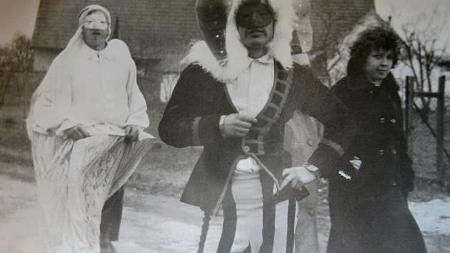 Masopust roku 1977 v Košicích.