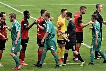 Z pohárového zápasu Sedlčany - Táborsko (0:4), který se konal v roce 2019