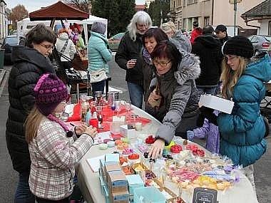 O víkendu se konají adventní trhy na náměstí v Táboře i v Soběslavi