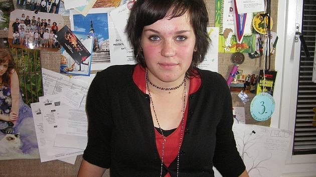 RUBIKON. Lenka Isevičová (14) se těší na březen příštího roku, kdy se představí v jedné z hlavních rolí nové pohádky.