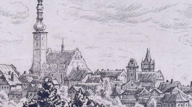 Soubor obrazů, kreseb a grafik zahrnuje období druhé poloviny 19. století až konce 20. století od romantických vedut neznámých autorů po osobité dřevořezy grafika Jana Hejtmánka.