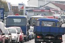 Chýnovská ulice v Táboře