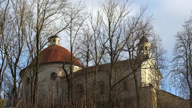 Kaple Nanebevzetí Panny Marie v Mladé Vožici.