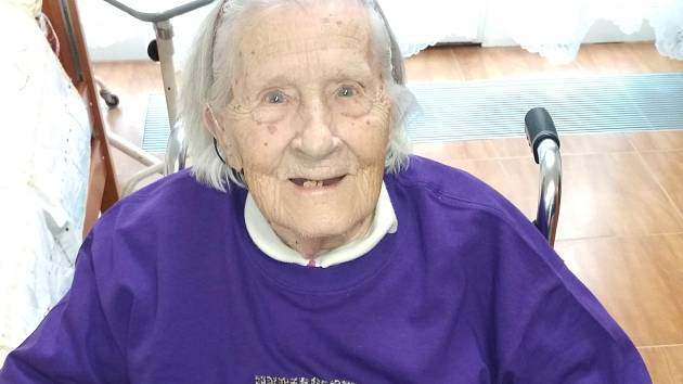 V pátek 31. ledna 2020 se seniorka dožila významného jubilea – 101 let.