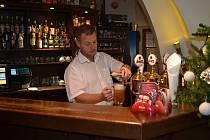Marcel Andrle není za pípou žádným nováčkem a dobře ví, co pivo potřebuje.