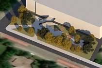 U táborského zimního stadionu vyroste skatepark.