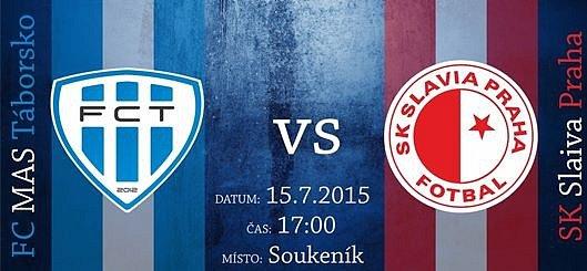 FC MAS Táborsko proti Slavii.