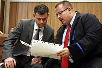 Stanislav Snášel u soudu. Ve vazbě je od května.
