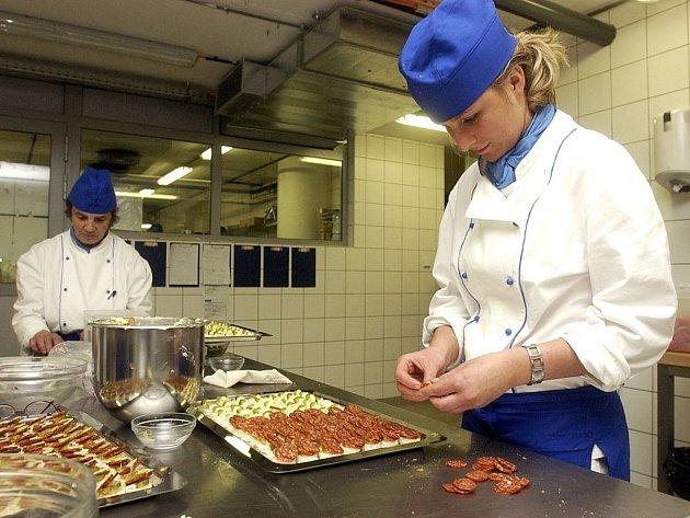 Mezi profese, o které mají v nadcházející turistické sezoně zaměstnavatelé v jižních Čechách největší zájem, patří kuchaři, číšníci a servírky.