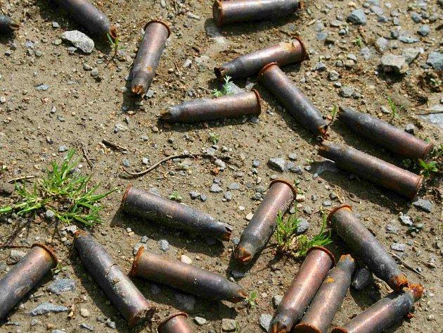 Ilustrační foto munice.