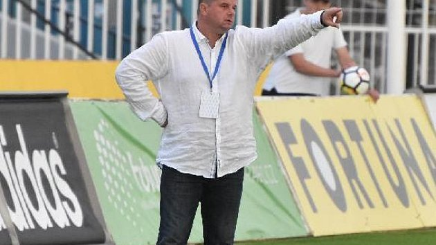 Trenér Táborska Roman Nádvorník.