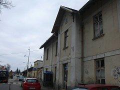 Výpravní budova na soběslavském nádraží se už brzy dočká celkové rekonstrukce.