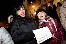 Bechyně se 11. prosince v 16 hodin připojí k akci Česko  zpívá koledy
