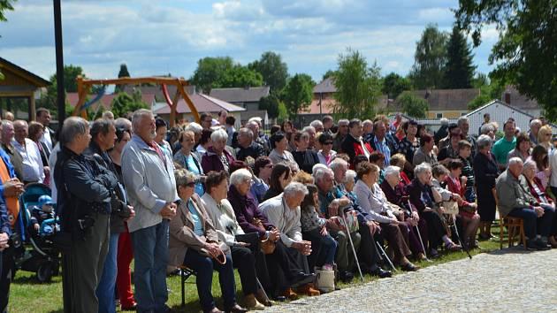 Myslkovičtí v sobotu oslavili výročí 650 let od první písemné zmínky o obci.