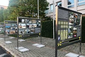 Venkovní výstava mapuje 30 let vojenské policie.