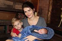 Spisovatelka Tereza Čiháková se svými dvěma syny žije v Táboře.