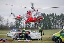 Letecká záchrana.