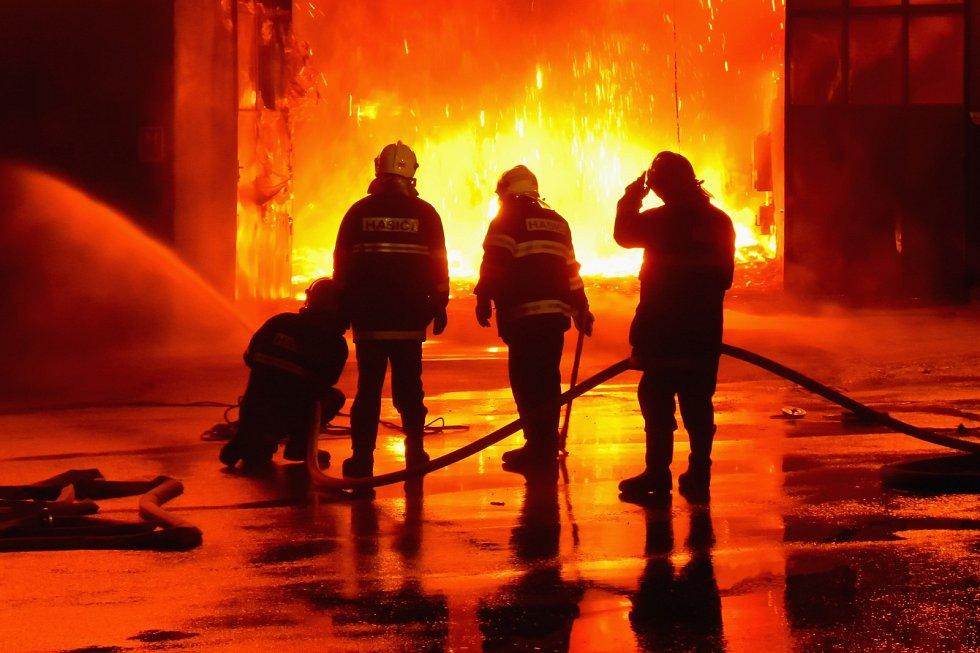 Požár haly Comett v roce 2009