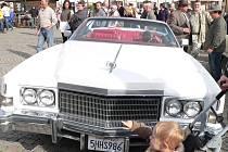 Cadillac Antonína Šumavského upoutal porotu i veřejnost.