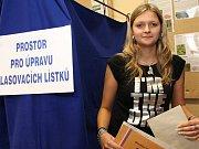 Nejmladší kandidátka krajských voleb na Táborsku Jana Punčochářová.