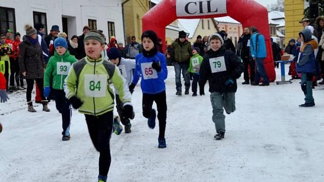Běh v Chýnově se těšil v minulých letech značné popularitě.