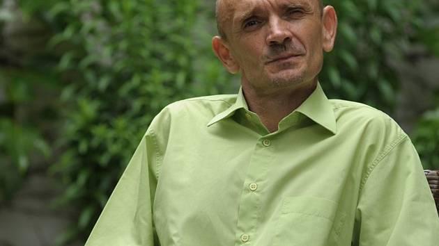 Starosta Mladé Vožice Jaroslav Větrovský.